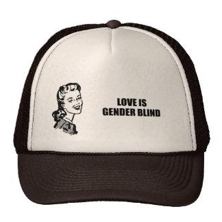 Love is gender blind hats