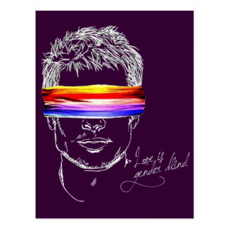Love Is Gender Blind Postcard