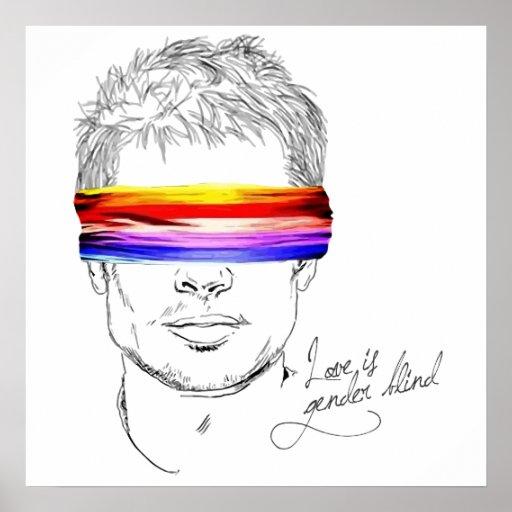 Love Is Gender Blind Poster
