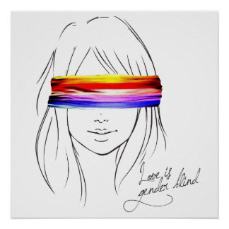 Love Is Gender Blind Poster