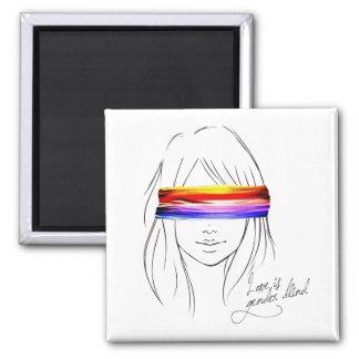 Love Is Gender Blind Refrigerator Magnets
