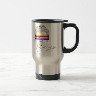 Love Is Gender Blind Stainless Steel Travel Mug