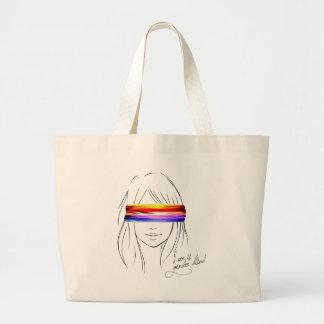 Love Is Gender Blind Jumbo Tote Bag