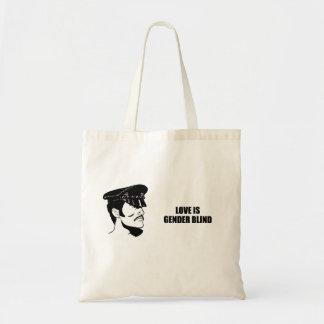 Love is gender blind tote bag