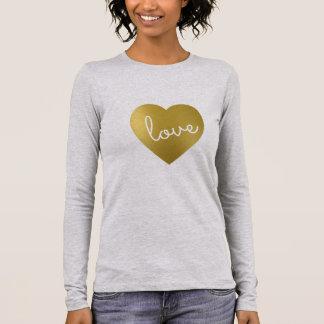 LOVE IS GOLDEN LONG SLEEVE T-Shirt