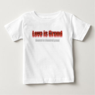 Love Is Grand Divorce Is A Hundred Grand Red Tshirt