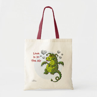 Love Is In The Air Tote Bags
