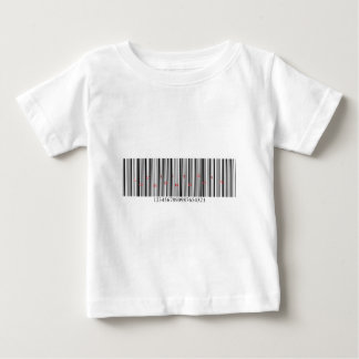 Love is in the air barcode baby T-Shirt