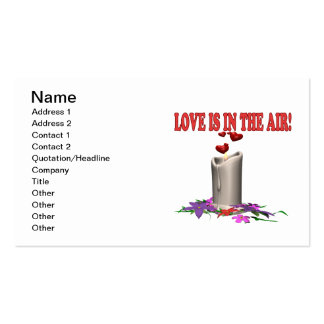 Love Is In The Air Pack Of Standard Business Cards