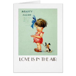 Love is in the Air. Funny Valentine's Day Cards