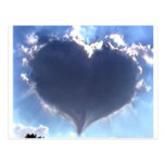 Love is in the Air: Heart Shaped Cloud: Wedding
