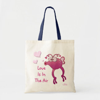 """Love Is In The Air"" Love Bug Budget Tote Bag"