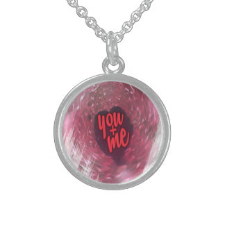 Love Is In The Air Sterling Silver Necklace