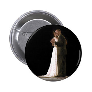 Love is in the Air, The First Couple Dancing 6 Cm Round Badge