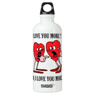 'Love is in the air'  Traveller (0.6L), White SIGG Traveller 0.6L Water Bottle