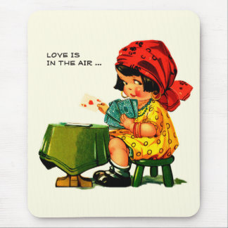 Love is in the Air. Valentine's Day Gift Mousepads