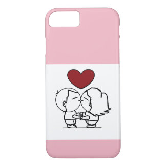 Love IS in to air - the love is in air iPhone 8/7 Case