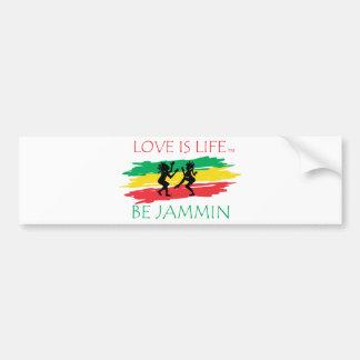 Love is Life Bumper Sticker