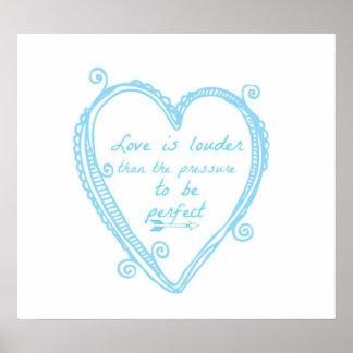 Love is Louder Print