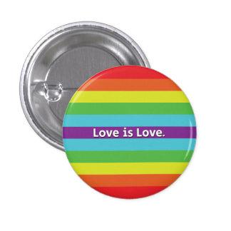 Love is Love 3 Cm Round Badge