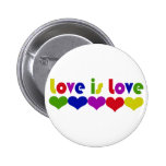 Love is Love 6 Cm Round Badge
