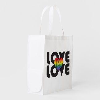 """Love Is Love' & ""All Love Is Equal"" Reusable Bag"