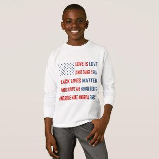 Love is Love Boy's Long Sleeve T-Shirt