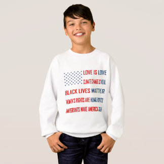 Love is Love Boy's Sweatshirt