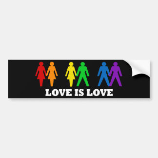 Love is Love Bumper Sticker