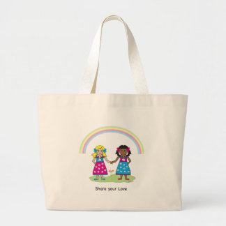 LOVE is LOVE - Equality for All Jumbo Tote Bag
