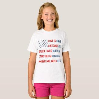 Love is Love Girl's T-Shirt