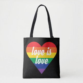 Love is Love Heart Bag