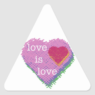 Love is Love Heart Sticker