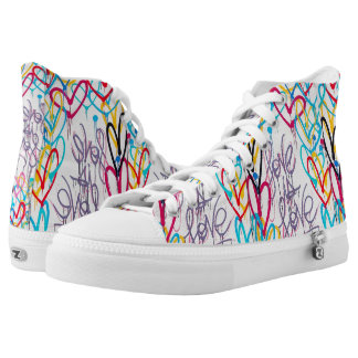 Love Is Love High Top Shoes