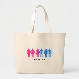 Love Is Love Jumbo Tote Bag
