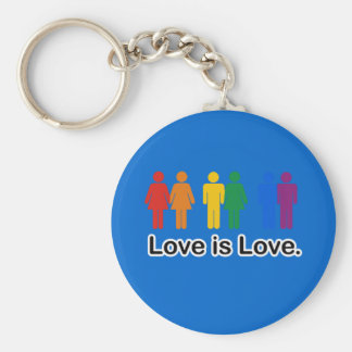 Love is Love. Key Ring
