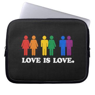 LOVE IS LOVE LAPTOP COMPUTER SLEEVE