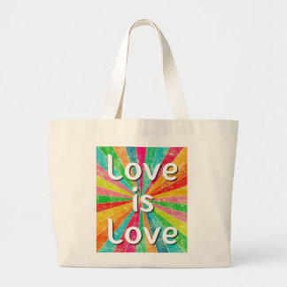 Love is Love Large Tote Bag