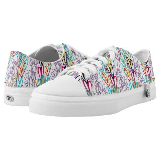 Love Is Love Low Top Shoes