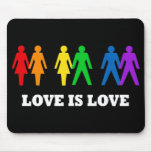 Love is Love Mouse Pads