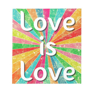 Love is Love Notepad