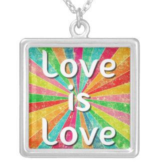 Love is Love Pendant Necklace