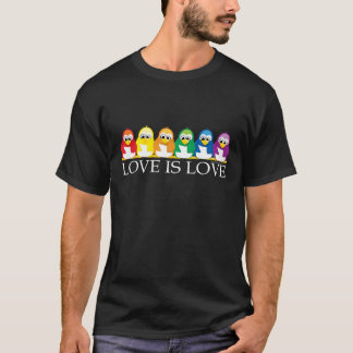 Love Is Love: Penguins T-Shirt
