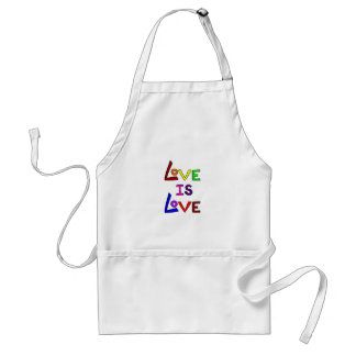 LOVE IS LOVE (Plain & Simple!) ~ Adult Apron
