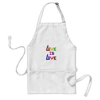 LOVE IS LOVE (Plain & Simple!) ~ Standard Apron