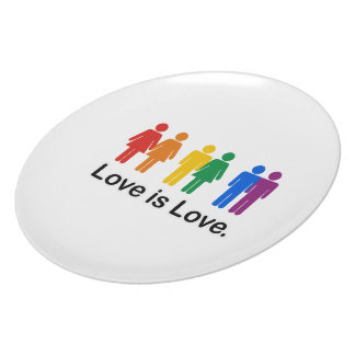 Love is Love. Plate