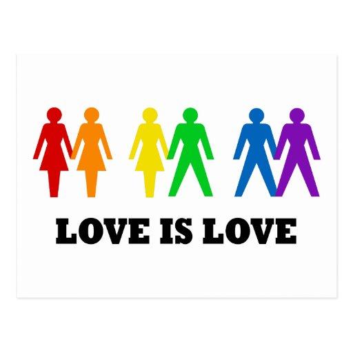 Love is Love Post Card