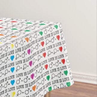 LOVE is LOVE Tablecloth