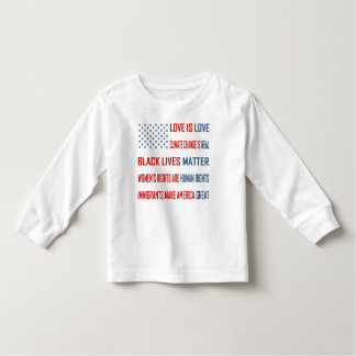 Love is Love Toddler Long Sleeve T-Shirt