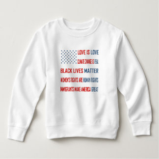 Love is Love Toddler Sweatshirt